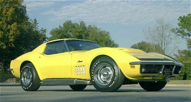 Rare American Muscle The 1969 Corvette Stingray Zl 1 Top Dead Center