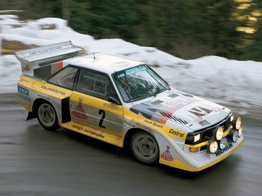 Group B Rally Cars are Old-School and Awesome – TOP DEAD CENTER